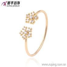 Produto de moda 13545 xuping novo anel de design em 18k chapeamento para as mulheres