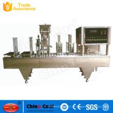 Fabrik-Versorgungs-automatische Schalen-Siegelmaschine für PP-Schale