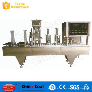 Máquina de sellado de taza automática de fuente de fábrica para taza de Pp
