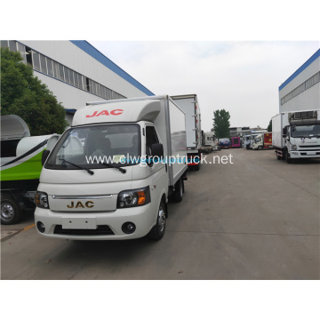JAC 4x2 hold-over plate refrigerated vehicle