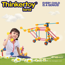 Kid Interessante kleine Welt Plastik Pädagogisches Puzzle Spielzeug