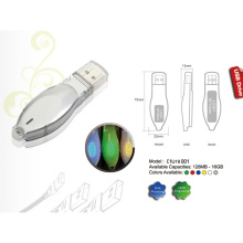 USB Flash Drive w/Clear Lid (01U19001)