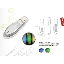 Unidade flash USB com tampa transparente (01U19001)