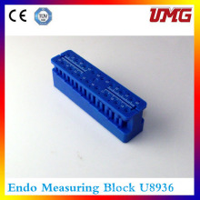 Root Canal Measurement Endo Measuring Block Dental Supply