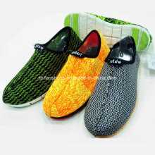 New Style Fashion Men′s Slip-on Textile Fabric Sports Shoes Leisure Shoes