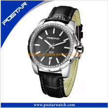 2016 Luxury Brand Women′s Leather Strap Fashion Quartz Watches