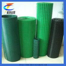 China Fábrica de PVC revestido de malha de arame soldado (ISO 9001)