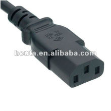 C13 AC Power Cord Extension Socket with Plug