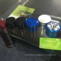 Flugzeug Alminum, Kunststoff, Zink-Legierung Kräuterschleifer mit Super-CNC-Technik