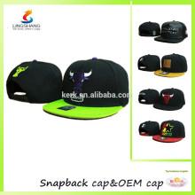 Casquillos brimless ajustables del salto de la cadera del sombrero de béisbol del casquillo del snapback de los hombres de la tendencia de la manera