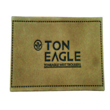 Wholesale OEM Leather Label for Clothing