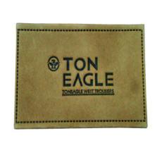 Comércio por grosso OEM Leather Label for Clothing
