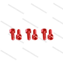 Professionelle China Schrauben Lieferant OEM Aluminium 7075 Sockel Schrauben