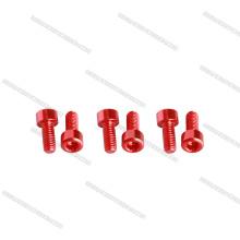 O profissional China parafusa parafusos de soquete do alumínio 7075 do OEM do fornecedor