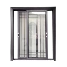 WANJIA High Quality Double Glass Window Aluminum Sliding Windows