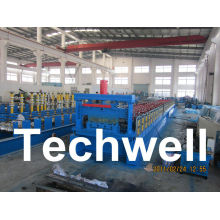 Steel Structure Floor Deck Roll Forming Machine For Roof Deck, Steel Tile Tw-fd1250