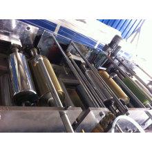 Máquina de revestimento UV de três estágios de faixa de borda de PVC