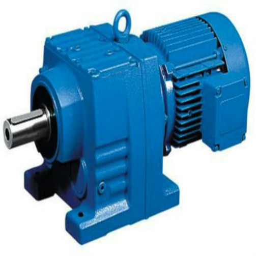 Poros Berongga Gearbox Electric Motor / Parallel Shaft Reducer