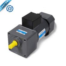 Motor universal pequeno da engrenagem de controle de velocidade da CA da baixa velocidade de 180w RPM com caixa de engrenagens