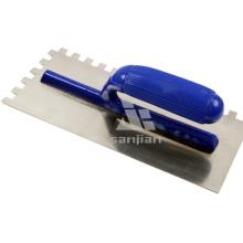 Plastic Handle Notched Plastering Trowel