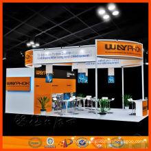 design & cusomtize reusable ShangHai large exhibition stand,Custom portable exhibition booth design