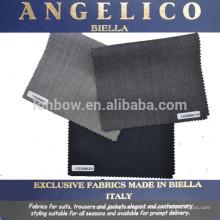 Anzug Stoff Wolle Seide italienische Wolle Anzug Stoff Angelico Anzug Stoff