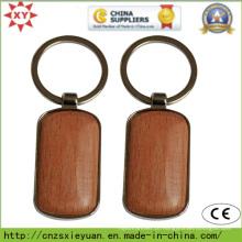 Tempo de entrega rápido Custom Wood Keychain