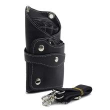Leather Hairdressing Case Tools Scissor Bag Barber Holster Pouch Holder with Adjustable Shoulder Belt