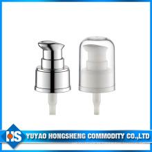 24mm bomba de crema de plástico para cosmética con tapa