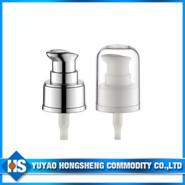 24mm Plastic Cream Pump for Cosmetic with Cap