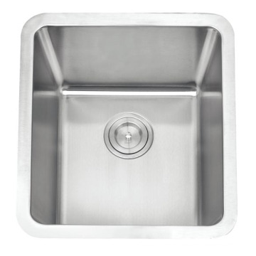Cupc Stainless Steel Radius 25 Single Bowl Sink for Kitchen