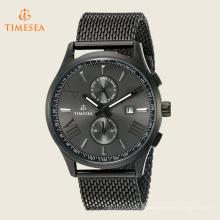 O relógio de aço inoxidável de luxo de alta qualidade com Movement72506 suíço