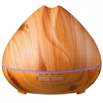 Nieuw model Ultra Quiet Smart Wooden Humidifier 400ml