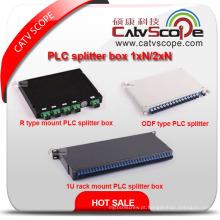 China Fornecedor de Alta Qualidade 1xn / 2xn PLC Splitter Box