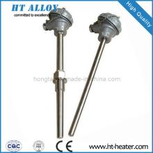 Sensor termopar de acero inoxidable Thermowell