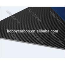 Feuille / plaque / plat de fabricant de fibre de carbone pleine de mat de 3k