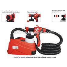 900W HVLP Pulvérisateur de peinture à base de sol DIY Pistolet à pulvériser électrique GW8180