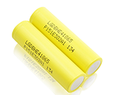 color flashlight battery 18650 Battery LG HE4 20A 2500MAH