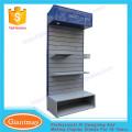 Einzelhandelsgeschäft einseitige Hardware-Tool Metallboden Display Stand für Ausstellung