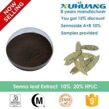 2016 XUHUANG supply organic 10% senna leaf extract