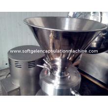 High Efficiency Commercial Peanut Butter Colloid Mill Machine For Food