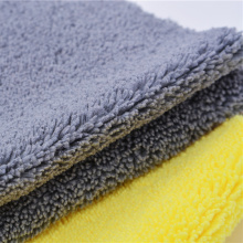 Super Absorbent Warp Knitting Microfiber Car Cleaning Towels
