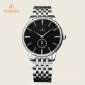 Hot Men′s Watch Stainless Steel Band Analog Quartz Watch 72306