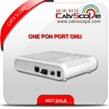 High Performance Gepon Terminal Fibra Óptica Rede Unite One Pon Port ONU
