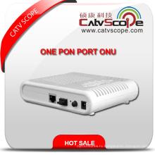 Высокопроизводительная оптоволоконная сеть Gepon Unite One Pon Port ONU