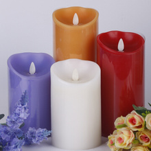 Ivory flicker luminara flameless pillar candles