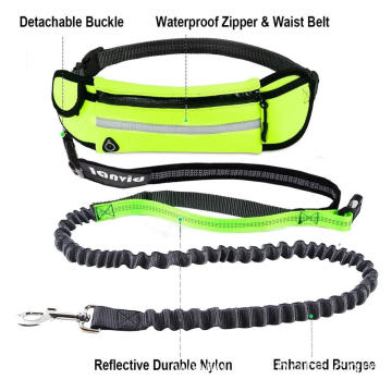 Hands Free Retractable Dog Leash with WaIst Pounch