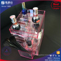 New Arrivial Tranparent Pink Rotating Acrylic Lipstick Display Stand