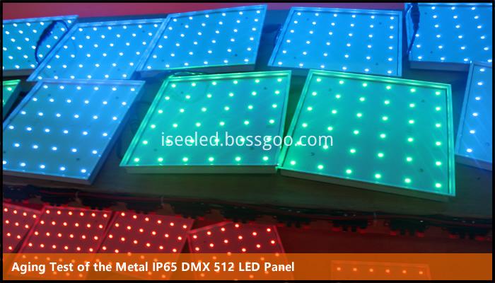 IP65 LED Color Panel Light Aging Test