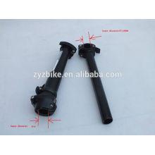 Vástago de bicicleta Válvula plegable de manillar para bicicleta 28.6 / 25.4 / barras plegables desmontables de barra vertical Negro / Plateado